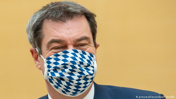 Germany Bans Cloth Masks Use In Public Spaces
